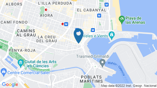Hostal Balcón al mar Map