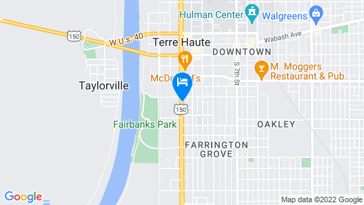 Travelodge by Wyndham Terre Haute Map