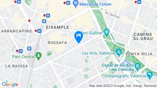 Total Valencia Ruzafa II Map