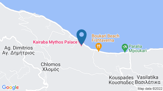 Kairaba Mythos Palace - Adults Only Map