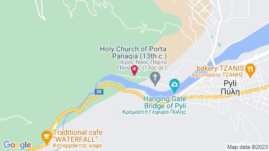 Pyli Hotel Map