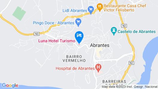Luna Hotel Turismo Map