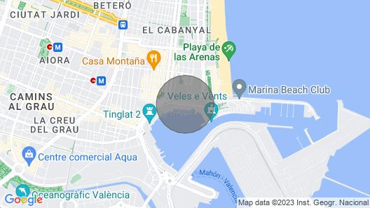 2 Bed, 2 Bathroom Yacht In Valencia Map