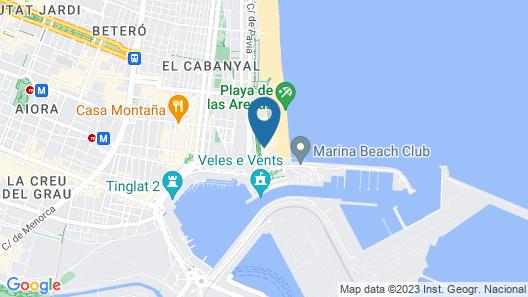 Hotel Boutique Balandret Map