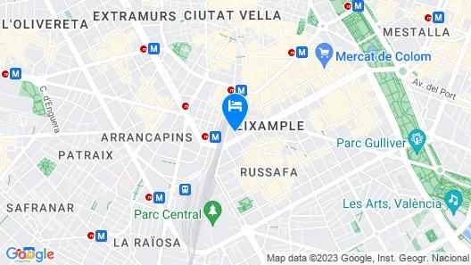 Total Valencia Center Map