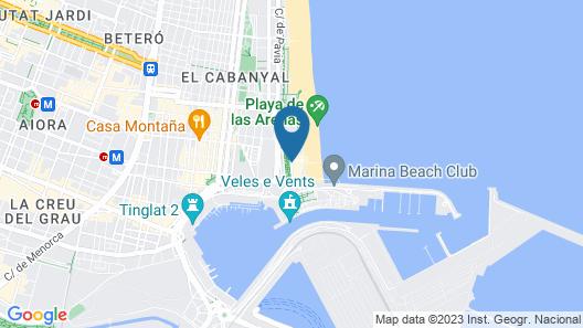 Hotel Gabbeach Map
