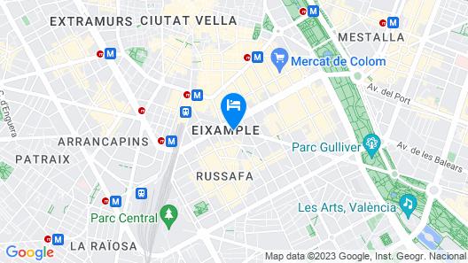 Total Valencia Terrace Map