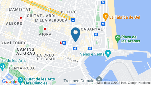 Hotel Líndala Map
