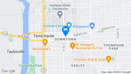 Candlewood Suites Terre Haute, an IHG Hotel Map