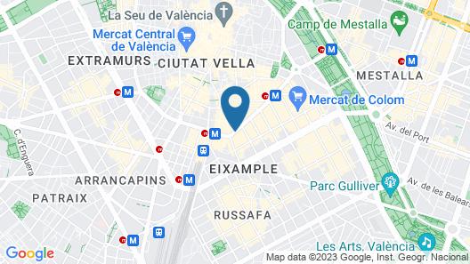 AC Hotel Colón Valencia by Marriott Map