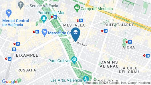 Ramírez Flats Valencia Map