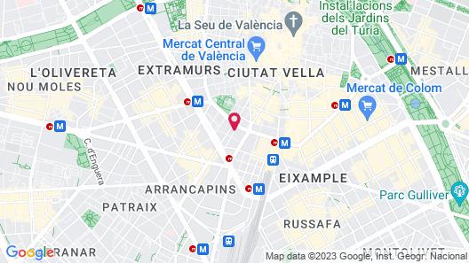 Hotel Conqueridor Map