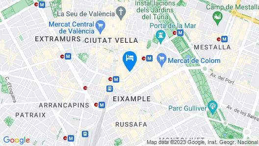 Vincci Lys Hotel Map