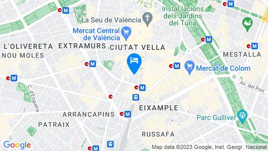 Casual del Cine Valencia  Map