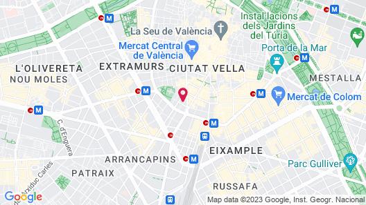 Voghe Premium Flats Map