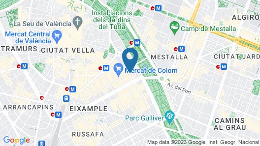 Hi Valencia Cánovas Map