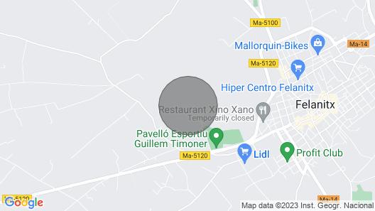 Sa Mola,luxury holiday Villa in Felantix, Mallorca Map