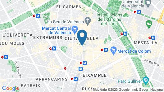 Melia Plaza Map
