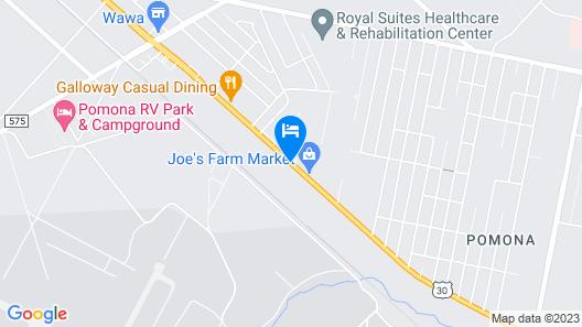Atrium Inn Map