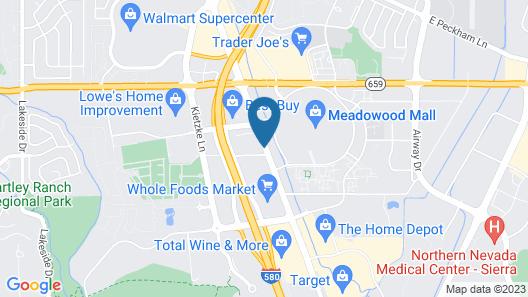 Days Inn by Wyndham Reno South Map