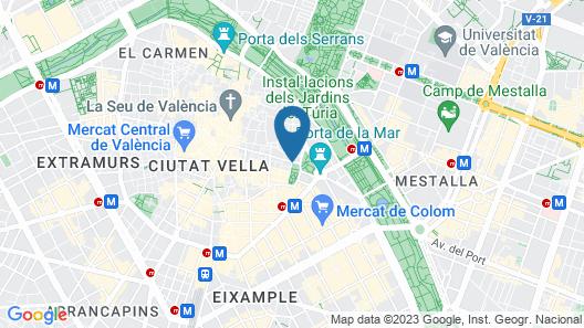Hi Valencia Boutique Map