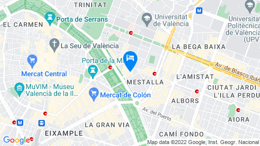 The Westin Valencia Map