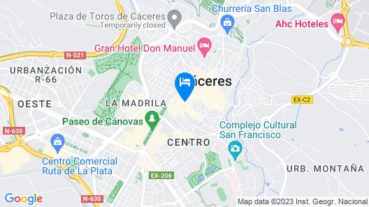 Roso de Luna By Kubik Alojamientos Map