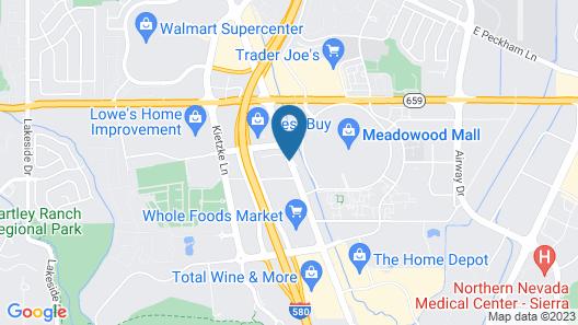 Super 8 by Wyndham Meadow Wood Courtyard Map