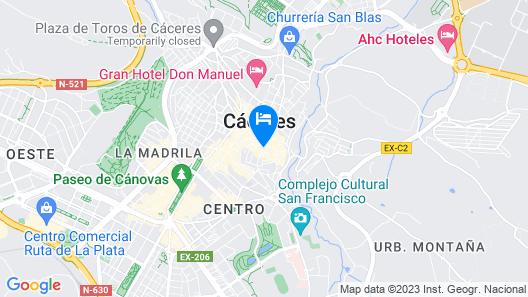 Atrio Restaurante Hotel Map