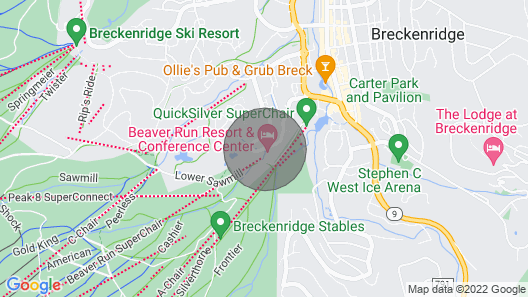 Beaver Run Condo - Adventure and Luxury! Map