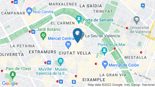 Mon Suites Catedral Map