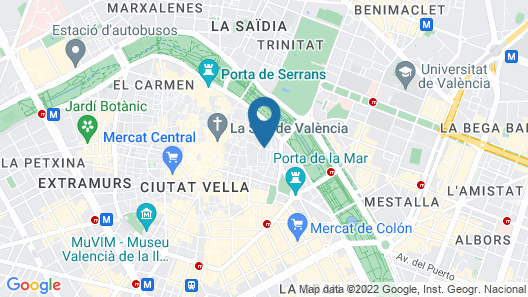 Bubusuites Map