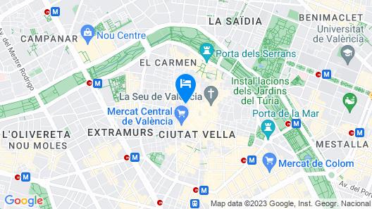 Old Town Flats Casa Burguerini Map