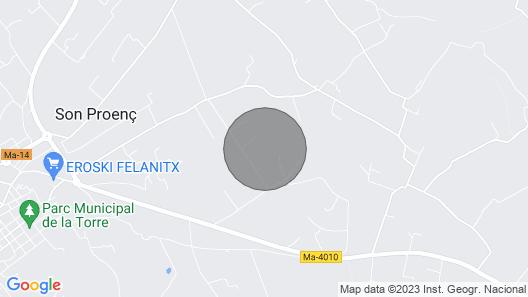 Finca Es Reialenc - House for 6 persons near PortoColom Map