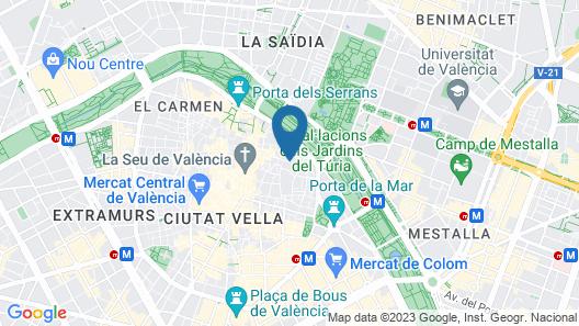 Caro Hotel Map