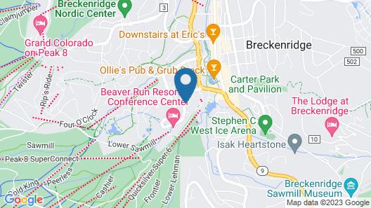 DoubleTree by Hilton Hotel Breckenridge Map