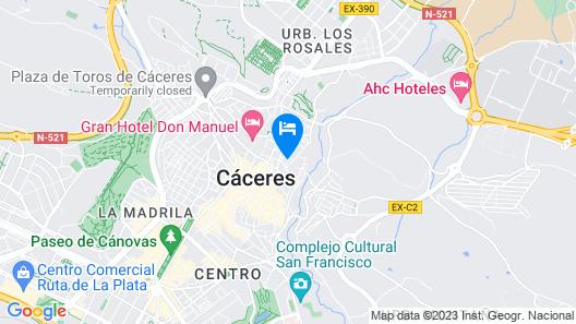 Plaza de Santiago by Santiago 9 Apartamentos Map