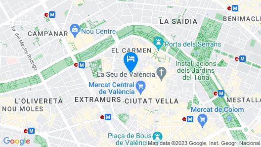 Palacio de Rojas Apartments Map