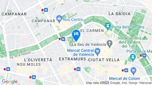 SingularStays Carmen 3 Map