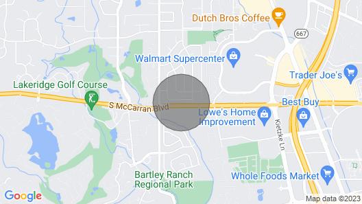Modern Rustic Getaway Map