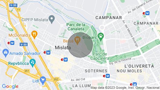 Bioparc View Apartment Map