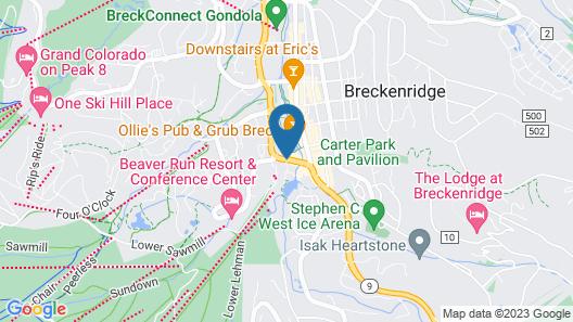 Village at Breckenridge Resort Map