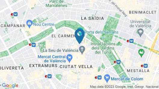 Hotel Ad Hoc Carmen Map