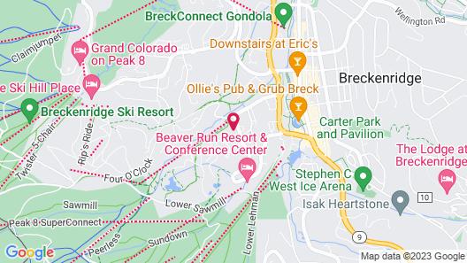 BlueSky Breckenridge Map