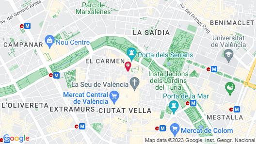 Casa Cosy Apartments Map