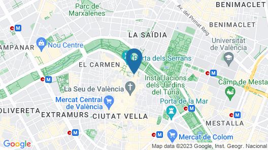Hotel San Lorenzo Boutique Map
