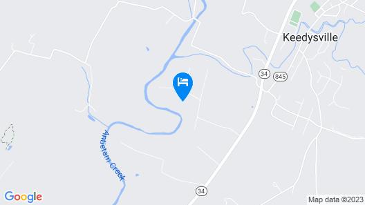 Antietam Creek - Quiet 2 Bedroom Cabin Map