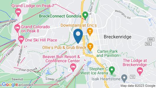 Pine Ridge Condominiums Map