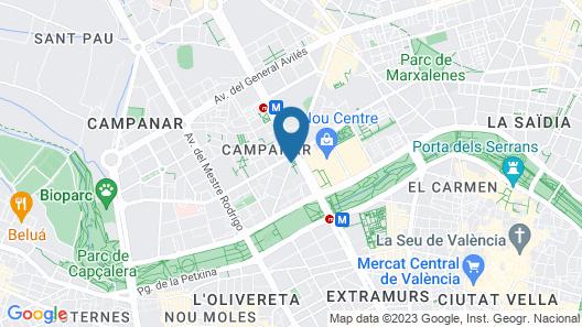 Hotel Kramer Map