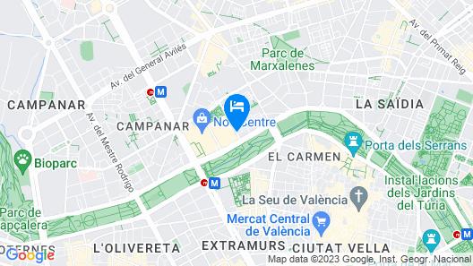NH Valencia Center Map